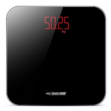 DWW-escala de peso Báscula de baño de grasa corporal con vidrio templado USB hogar