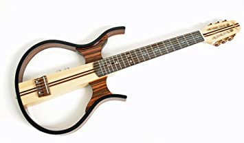 Silent Guitarra clásica, sándalo, incluye accesorios, Nuevo modelo: Amazon.es: Instrumentos musicales