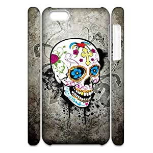 C-EUR Diy 3D Case Skull for iPhone 5C by Maris's Diary
