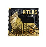Atlas Black Lubricated Condom 50 Pack