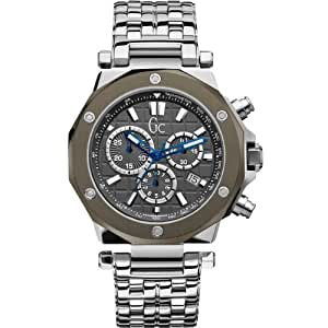 Guess x72009g5s stainless steel case steel bracelet anti reflective sapphire men 39 s for Anti reflective watches