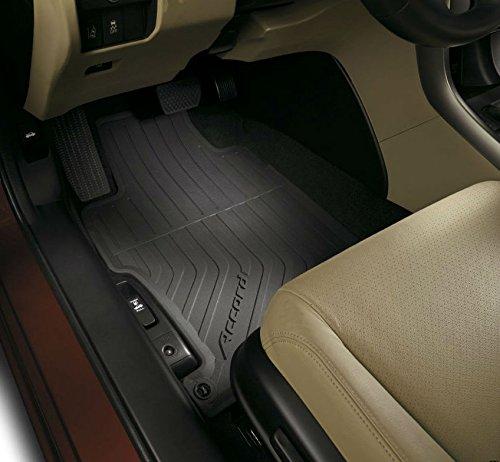Genuine OEM Honda Accord 4DR Black All Season Floor Mat Set 2013 - 2016