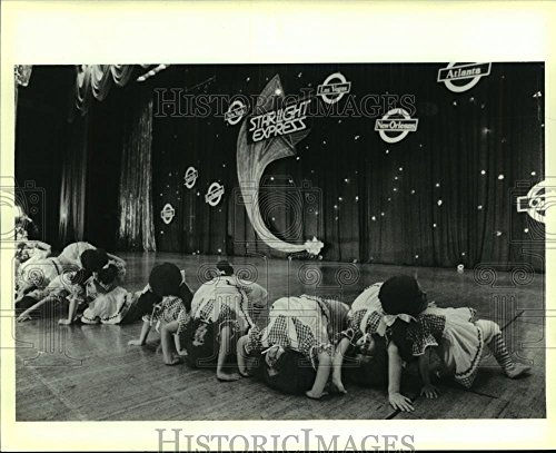 Raggedy Ann Dance - 1988 Press Photo Children dressed as Raggedy Ann perform during dance recital