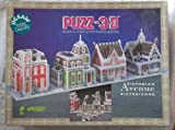PUZZ-3D Victorian Avenue 1008 Dimensional Jugsaw Puzzle