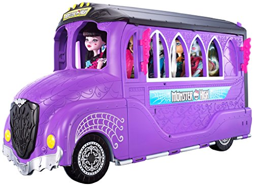 Monster High Deluxe School Bus & Spa Playset