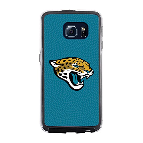 NFL Jacksonville Jaguars Football Pebble Grain Feel No Wordmark Samsung Galaxy S6 Case, Team Color