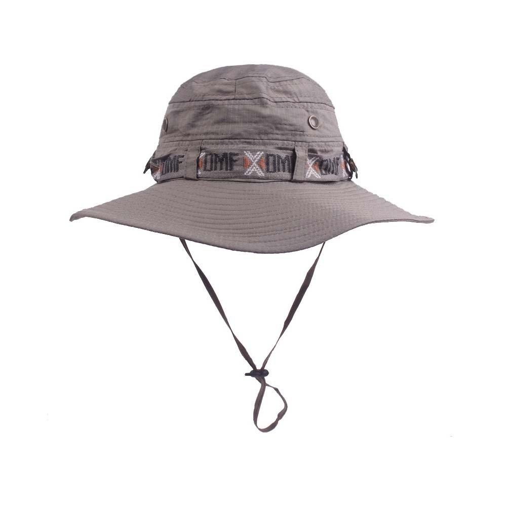 UHHAN Wide Brim Cap Sun Hats Fishing Hats Visor Hats for Men
