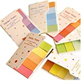 KitMax (TM) Pack of 12 Sets Cute Candy Color Sticky Notes Gift for Students Children, Color May Vary