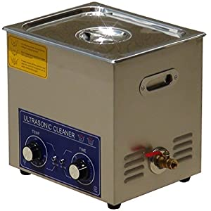 Jakan 14L Mechanical Ultrasonic Parts Cleaner Stainless Steel Ultrasonic Cleaning Machine for Jewelry,Parts,Watch,Denture,Glasses. (14L)