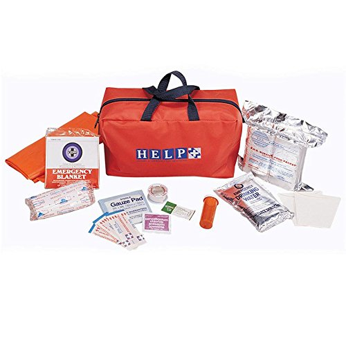 ECONOMY EARTHQUAKE-SURVIVAL KIT, Case of 8