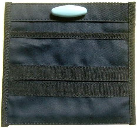 紺無地 付けポケット【ティッシュケースタイプ】【安全ピン付き】 移動ポケット