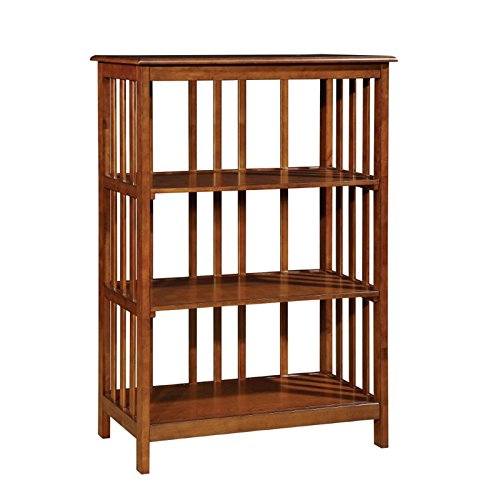 Furniture of America Lester 3 Shelf Bookcase in