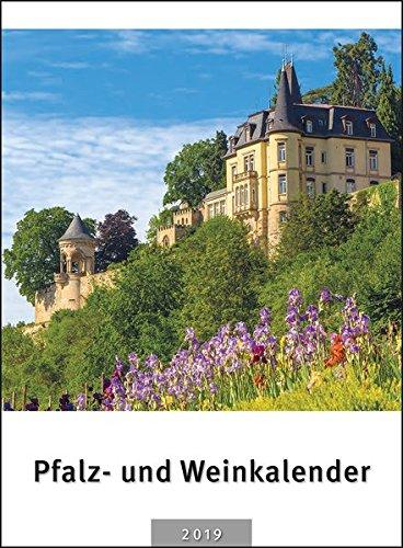 Pfalz- und Weinkalender 2019: 12 stimmungsvolle Bildmotive inkl. der regionalen Weinfesttermine auf der Kalenderrückwand Kalender – andere Kalender, Wandkalender Meininger 3875242165 Freizeit Pfälzer