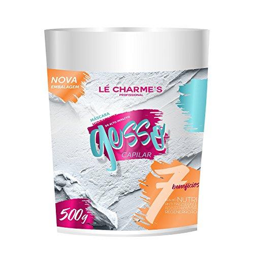 Price comparison product image Linha Tratamento Le Charmes Cosmeticos - Mascara Gesso Capilar 500 Gr - (Le Charmes Cosmeticos Treatment Collection - Hair Plaster Mascara Net 17.63 Oz)