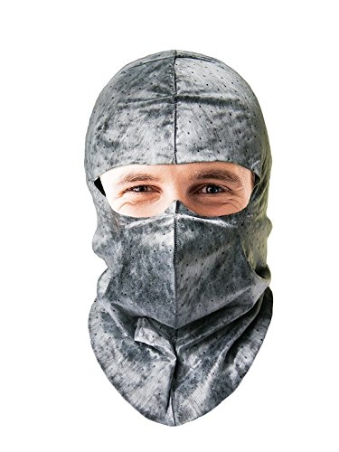 Asphalt Coating (UV-Shield Silver Soft-stretch Hood for Outdoor Work, Roof Coating, Asphalt Paving, Skyscraper Window Washing, Sportfishing, and Motorcycling. $2.66Ea, 6 Per Pack)
