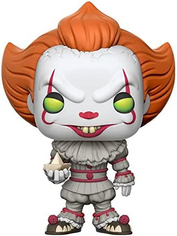 Funko Pop Movies: IT-Pennywise with Boat (Styles May Vary) Collectible Figure