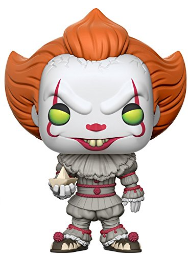 Buy Funko Pop Movies: IT-Pennywise with Boat (Styles May Vary) Collectible Figure