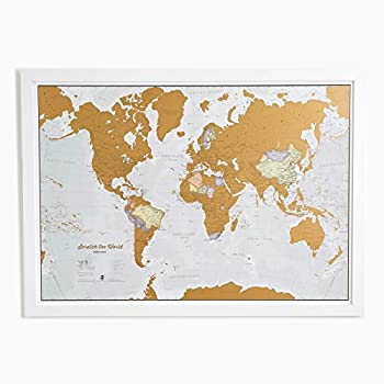 Amazoncom Scratch The World Scratch Off Places You Travel - Make a map of us with dots of cities visited