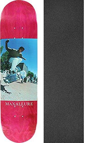 科学的引退した抑圧するmaxallure Skateboards Legacyピンクスケートボードデッキ – 8