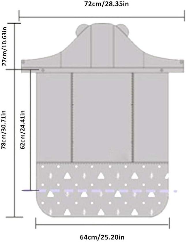 SOWLFE Porte-b/éb/é Coque /Écharpe Porte-b/éb/é Coupe-Vent imperm/éable imperm/éable Cape Coupe-Vent Chaleur /épaisse Couverture de b/éb/é Sac de Couchage