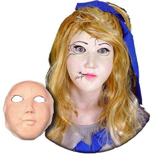 Porcelain Costume Doll Makeup (Porcelain Doll Face Foam Latex Prosthetic Theater)