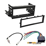 CAR STEREO DASH INSTALL MOUNTING KIT WIRE HARNESS FOR (SELECT ) CADILLAC CHEVROLET GMC VEHICLES