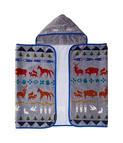 Pendleton Baby Hooded Towel, Shared Paths by Pendleton Woolen Mills