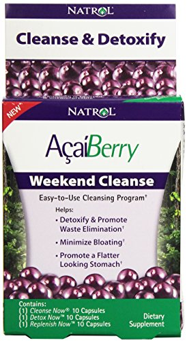 Natrol Acaiberry Weekend Cleanse Capsules
