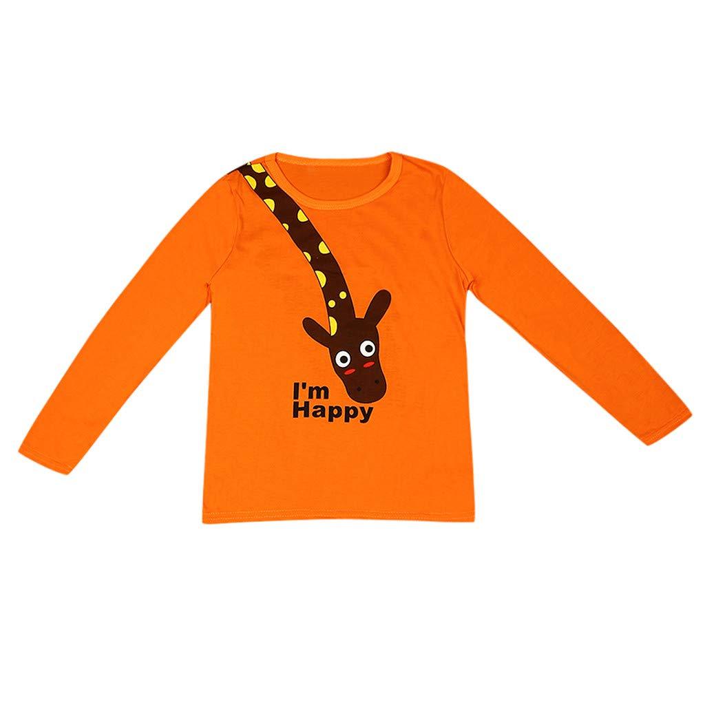 Jersey de manga larga para bebé, diseño de jirafa a granel, cuello ...