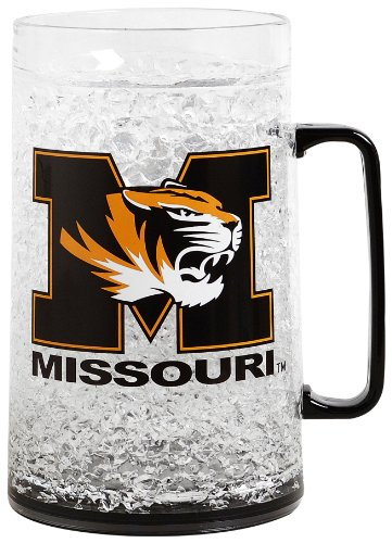 NCAA Missouri Tigers 38oz Crystal Freezer Monster Mug
