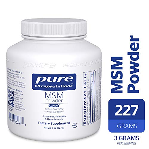 (Pure Encapsulations - MSM Powder - Hypoallergenic Supplement Supports Joint, Immune, and Respiratory Health* - 227 Grams)
