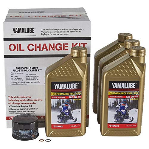 - Yamaha Sidewinder/SR Viper Full Synthetic Oil Change Kit - LUB-SMBCG-KT-25