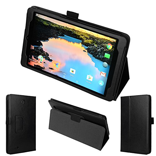wisers Alcatel A30 Tablet 8 T-Mobile 8-inch Tablet Case/Cover, Black