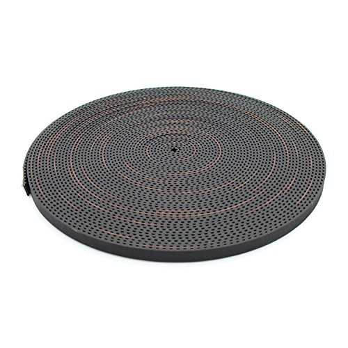 Mercurry 5 Meters GT2 timing belt width 6mm Fit for RepRap Mendel Rostock Prusa GT2-6mm Belt