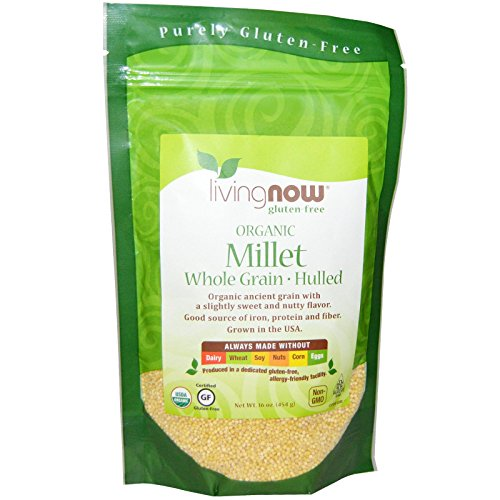 NOW Foods Organic Millet, 16 Ounce