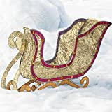 Brylanehome Crystal Splendor Sleigh (Gold Red,0)
