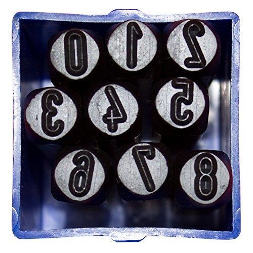 Steel Stamp Set & Case 5/16