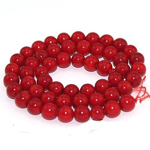 (SR BGSJ Wholesale Lot Jewelry Making Natural 8mm Round Loose Gemstone Craft Beads Strand 15
