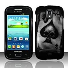 LF Hard Case Cover, Lf Stylus Pen, Screen Protector & Wiper Bundle Accessory for T-Mobil Samsung Galaxy S Relay 4G T699 (Hard Black)