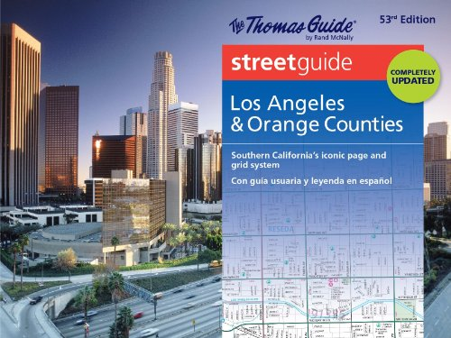 Thomas Guide Streetguide Los Angeles & Orange County: Southern California's Iconic Page and Grid System/ con guia usuaria y leyenda en espanol (English and Spanish ()