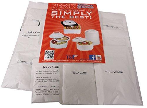 Nesco BJV-24 Jerky Spice Works, 4 Assorted Flavors -