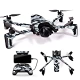 MightySkins Skin for Parrot Anafi Drone – Gray Camouflage | Protective, Durable, and Unique Vinyl Decal wrap Cover | Easy to Apply, Remove, and Change Styles | Made in The USA For Sale