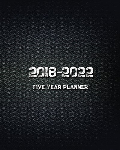 2018 - 2022 Five Year Monthly Calendar Planner 2018 - 2022 Five Year Monthly Calendar Planner Three year planner for 2018 - 2022 including January 2019 - December 2022 (60 Months Calendar). You can see 7 days Start with Monday to Sunday in the couple...