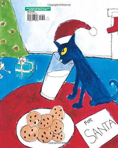 Pete The Cat Saves Christmas James Dean Eric Litwin 9780062110626