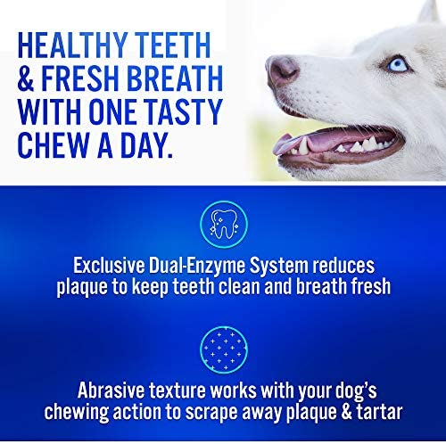 51dmkCTMcYL. AC - Virbac CET Enzymatic Oral Hygiene Chews For Dogs