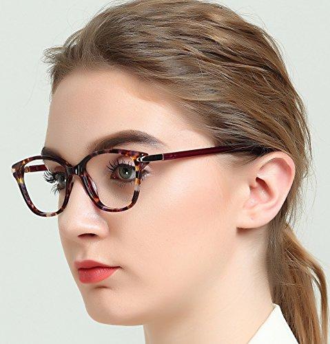 OCCI CHIARI - Monture de lunettes - Femme Taille unique red