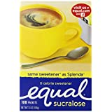 Equal Yellow Packets, 100 Count