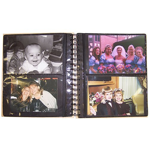 GiftsForYouNow Engraved Couple's Wood Photo Album, Holds 72, 4'' x 6'' Photos by GiftsForYouNow (Image #1)