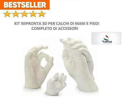 Kit para huellas dactilares 3D: Alginato Alginsax (453 g) + 1 kg de