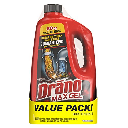 Price comparison product image Drano Max Clog Remover Twin Pack, 160 Ounce